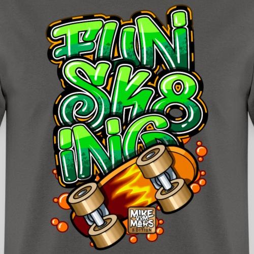 Graffiti Fun Sk8ing - Men's T-Shirt