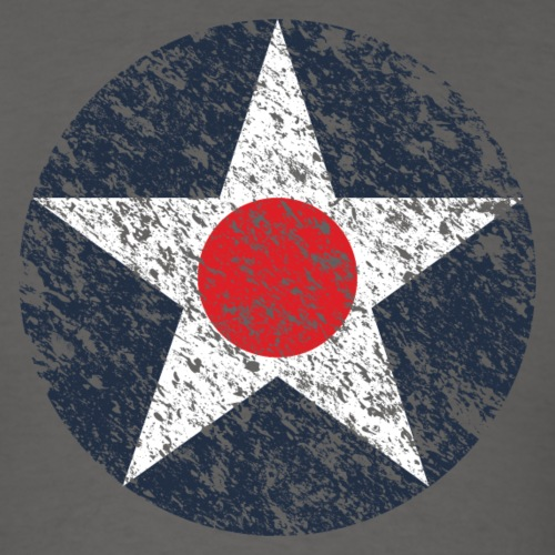 USAAC Roundel - Weathered - Men's T-Shirt