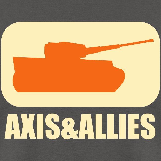 Axis & Allies Tank Logo - Dark