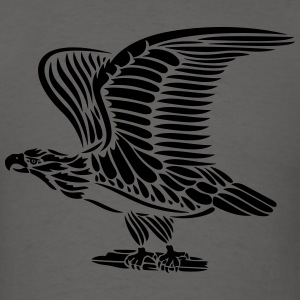 Tattoo eagle with wings. - Men's T-Shirt