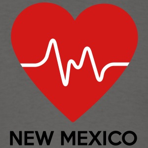Heart New Mexico - Men's T-Shirt