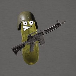 Combat Pickle - Men's T-Shirt