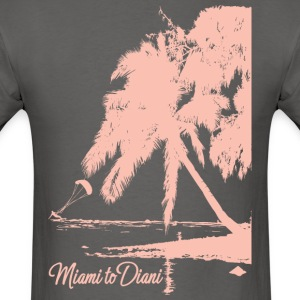 Miami To Diani Pink Edition - Men's T-Shirt