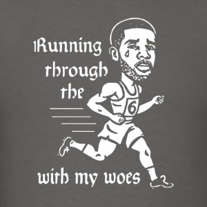 Running through the with my woes - Men's T-Shirt