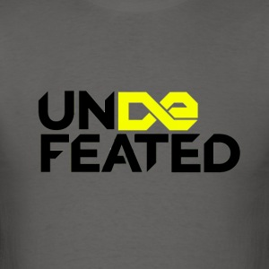 Undefeated (Jesus Fish) - Men's T-Shirt
