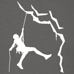 Climbing is my passion - Men's T-Shirt