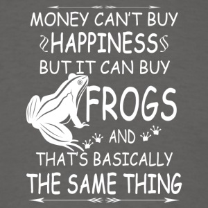 FROGS ARE MY HAPPINESS TEE SHIRT - Men's T-Shirt