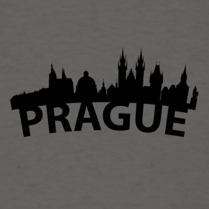 Arc Skyline Of Prague Czech Republic - Men's T-Shirt