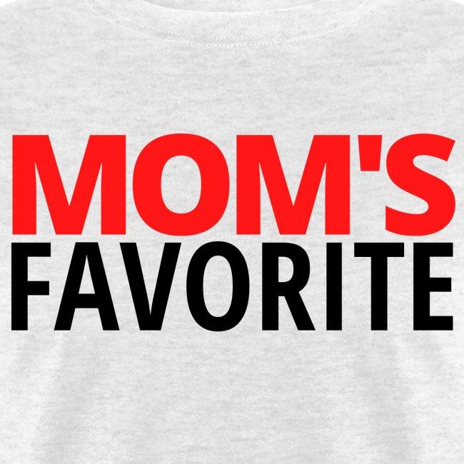 Mom's Favorite (red & black version)