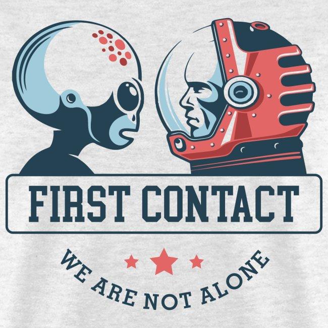 alien astronaut first contact
