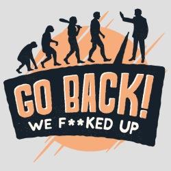 Evolution: Go back! we fucked up