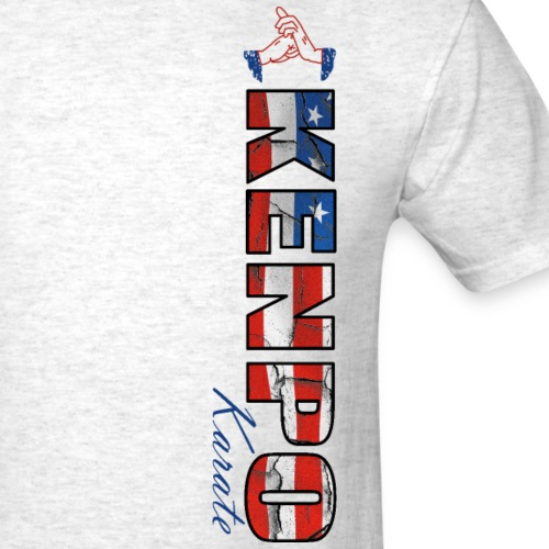 kenpo karate american flag - Men's T-Shirt