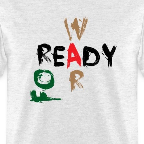 Ready For War - Men's T-Shirt