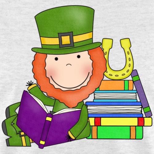 Lucky Leprechaun Readers4 png - Men's T-Shirt