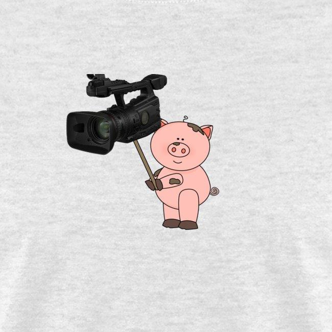 Hammie holding camera