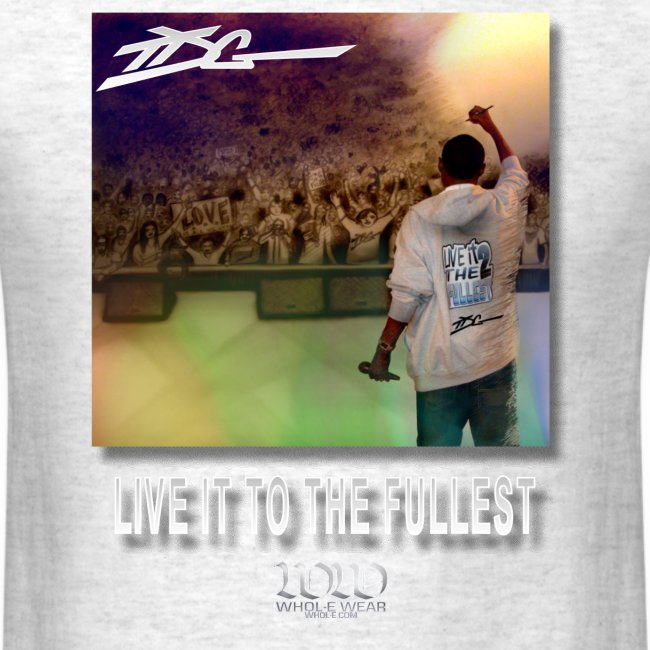 ww live it to the fullest cd tshirt