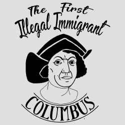 The first illegal immigrant