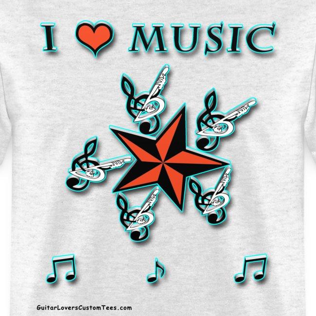 MusicLover by GuitarLoversCustomTees png