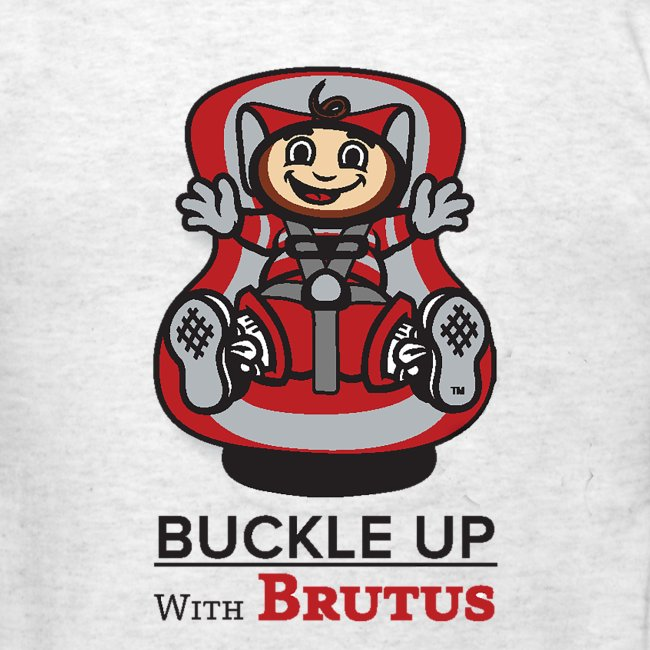 "IBRC Pocket Logo with ""Buckle Up Brutus"" on Back"