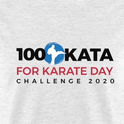 100 Karate Kata Official Shirt 2020 v2 - Men's T-Shirt
