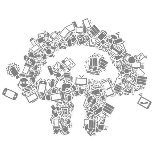 TWiT Stylized Logo Gadgets - Men's T-Shirt