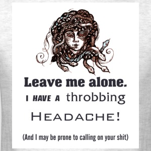 Throbbing Headache - by Fanitsa Petrou - Men's T-Shirt
