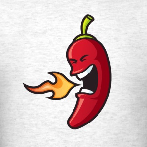 Flaming Chili Pepper - Men's T-Shirt