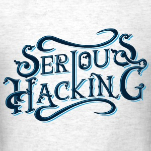 serious hacking decoration design - Men's T-Shirt