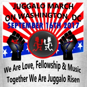 JUGGALO MARCH ON WASHINGTON, DC 9-16-2017 - Men's T-Shirt