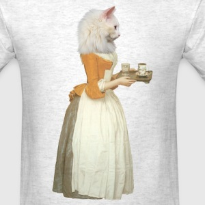 Retro Chocolate Cat - Men's T-Shirt
