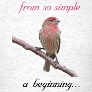 From so simple a beginning... - Men's T-Shirt