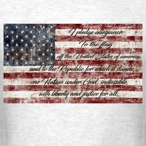 pledge of allegiance - Men's T-Shirt