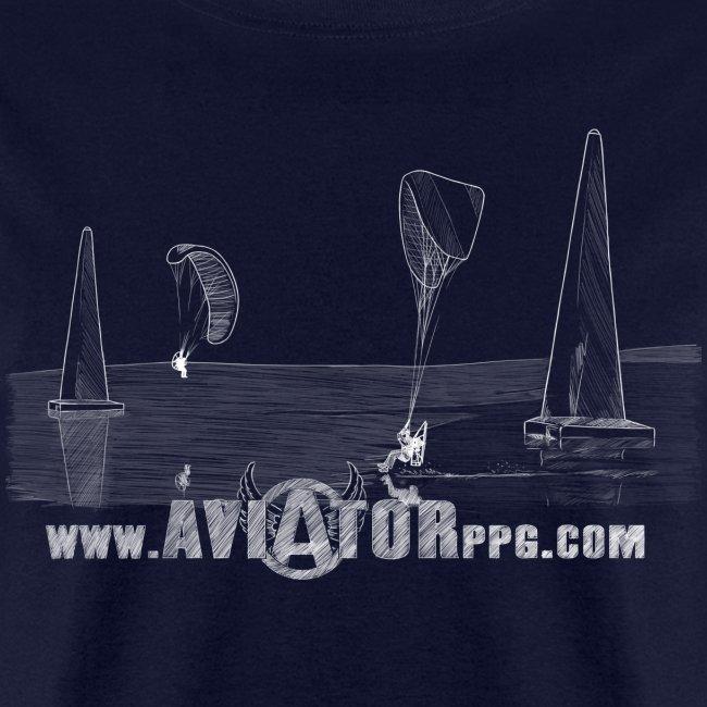 aviator ppg3 white