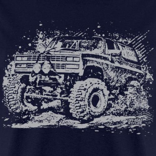 Chevy Blazer Mud Truck - Men's T-Shirt