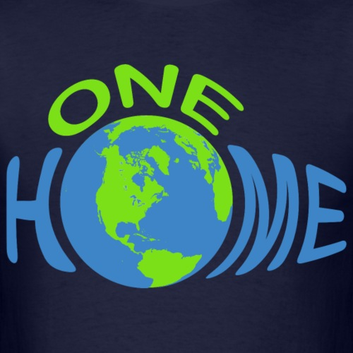 One Home Earth - Men's T-Shirt