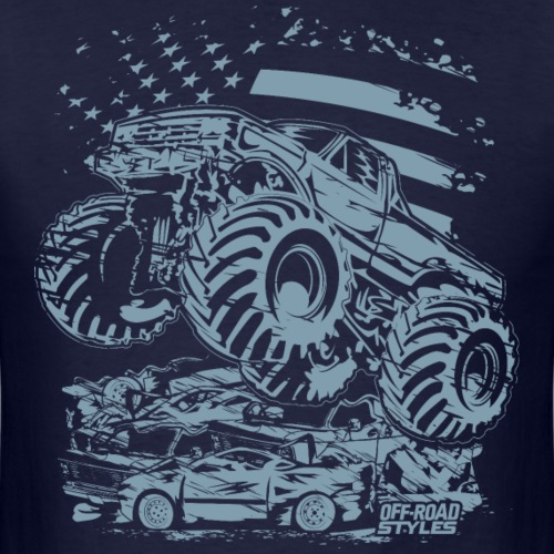 Monster Truck USA - Men's T-Shirt