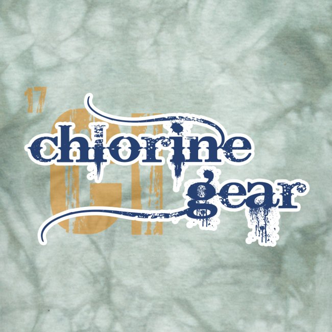 Chlorine Gear Textual stacked Periodic backdrop S