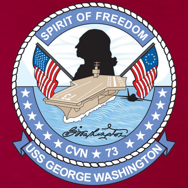 GEO WASHINGTON CREST T