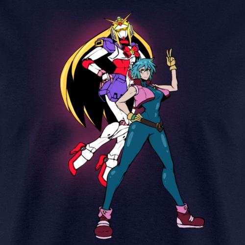 Allenby and Nobel Gundam - Men's T-Shirt