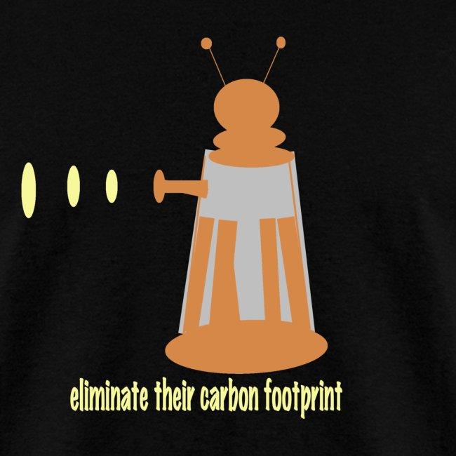 Carbon Footprint - dark T