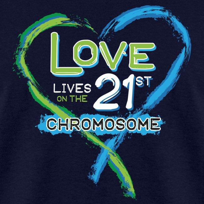 Down Syndrome Love (Blue/White)