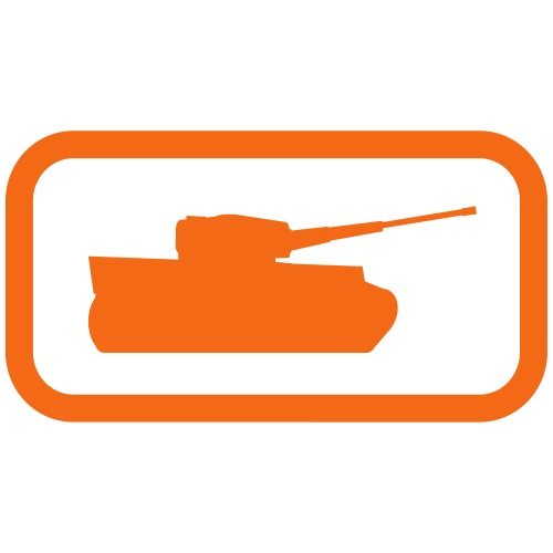 Tank Logo - Multi-Color - Axis & Allies