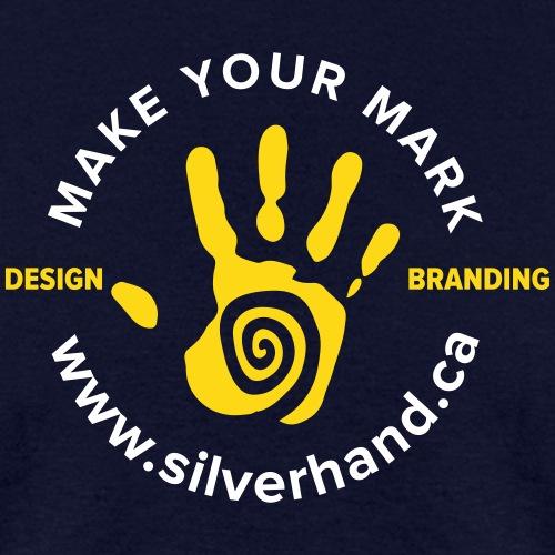 Silver Hand Crest 2 - Men's T-Shirt