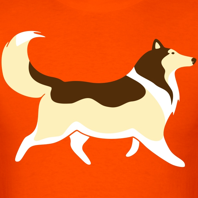 Sable Collie silhouette