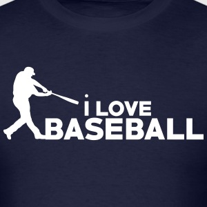I Love Baseball - Men's T-Shirt