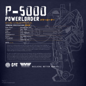 P-5000 Powerloader - Men's T-Shirt