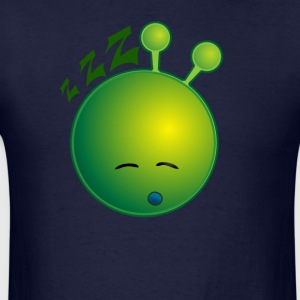 Bestseller Funny Cute Sleeping Snoring Alien Face - Men's T-Shirt