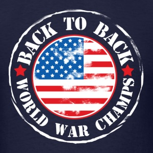 United States Patriot World Champs - Men's T-Shirt