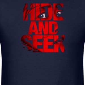 hide and seek - Men's T-Shirt