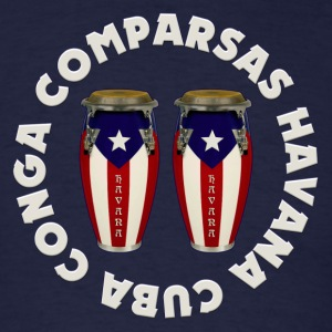 conga comparsas - Men's T-Shirt